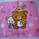 Pink Relax Bear Oshibori