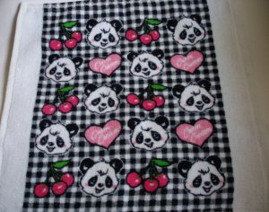 Cram Cream Panda Oshibori