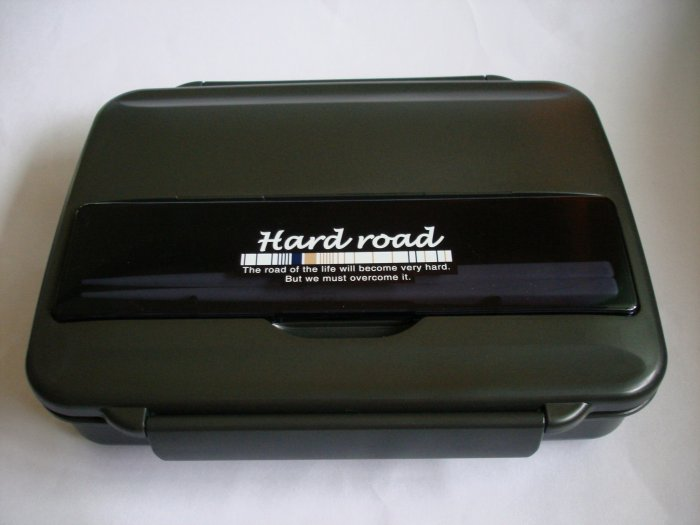 Hard Road One Tier Bento Box, Large Capacity
