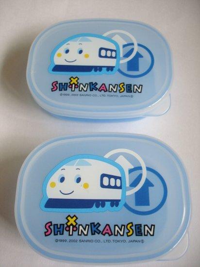 Sanrio Shinkansen Snack Size Mini Bento, set of 2