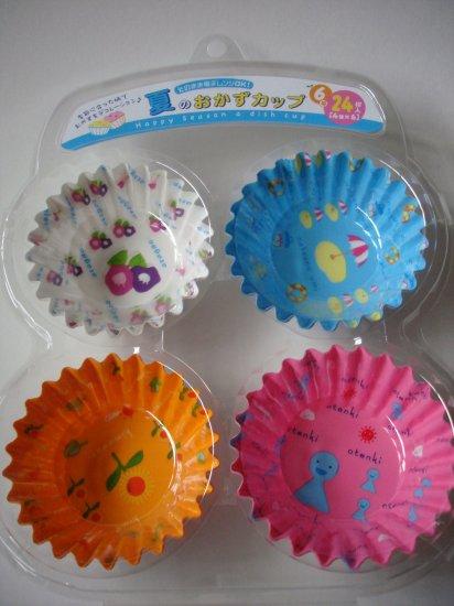 Summertime Theme Okazu Bento Dividers