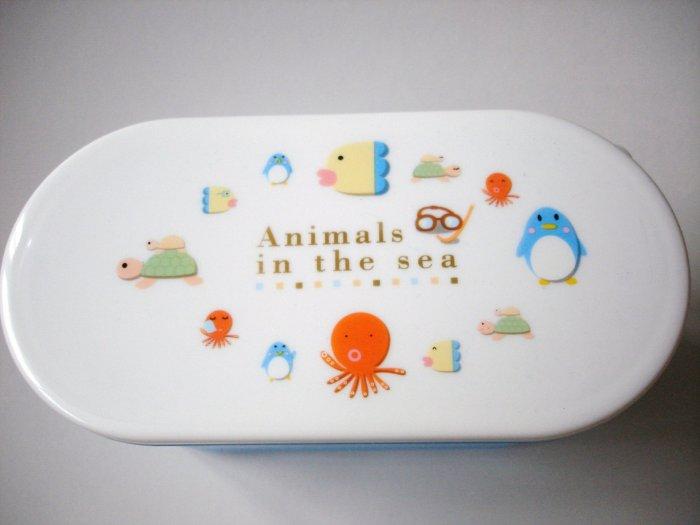 Animals in the Sea 2 tier Bento Box