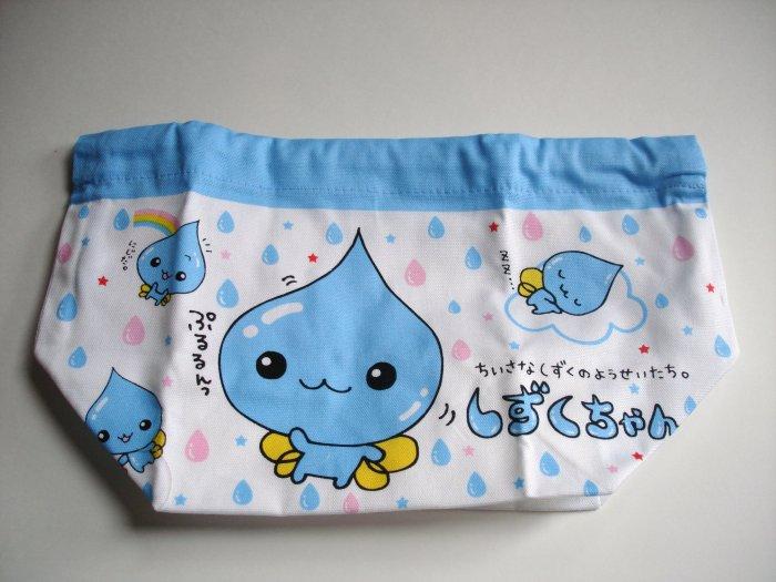 Q-Lia Trickle-chan Drawstring Bento Bag