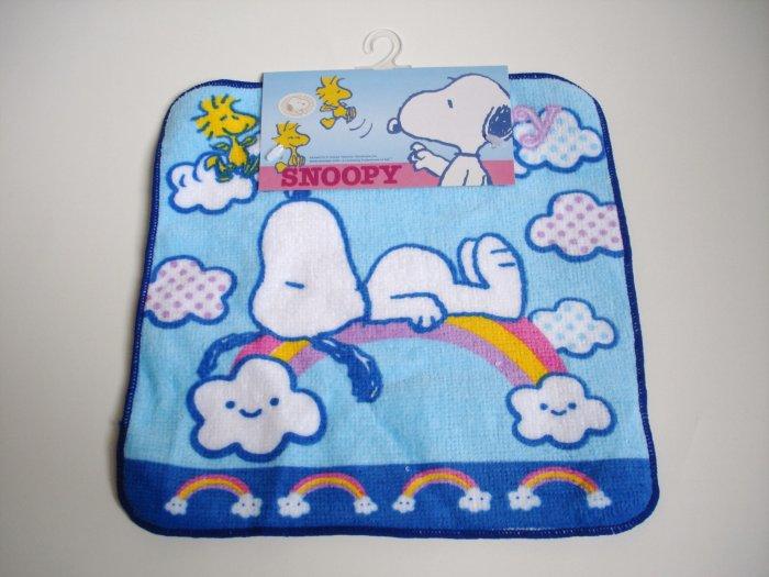 Snoopy Blue Oshibori
