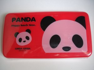 Panda Collapsible Sandwich Bento Case