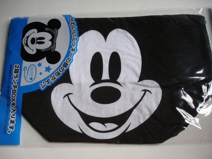Mickey Mouse Drawstring Bento Bag