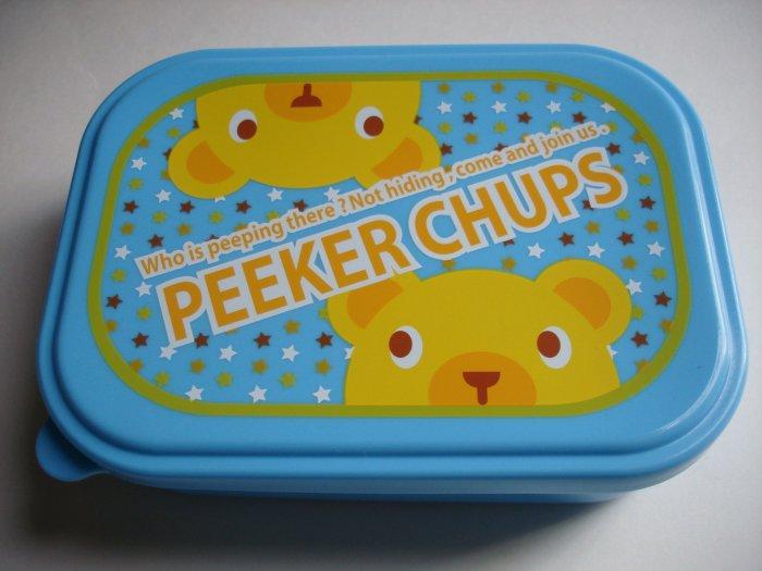 Peeker Chups One Tier Bear Bento Box