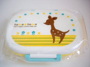 Tomo Tomo Deer One Tier Bento Box