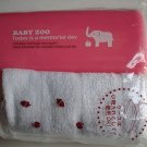 Baby Zoo Pink Elephant Oshibori and Case