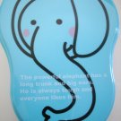 Cute Elephant One Tier Bento Box