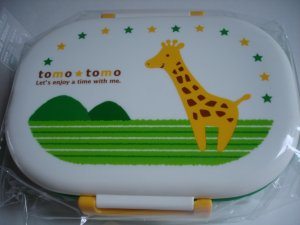 Tomo Tomo Giraffe One Tier Bento Box