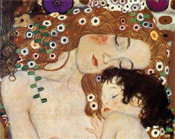 SM.0001.00 - Klimt. Mother and child.