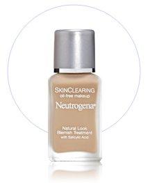 Neutrogena Skin Clearing Liquid Make Up Foundation ROSE CREAM