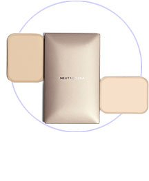 Neutrogena Skin Clearing Oil Free Compact Make Up Foundation NATURAL BUFF