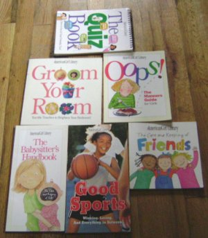 lot of 6 American Girl Library books