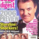 Soap Opera Digest 1 3 2006 Preview Eric Braden exclusive magazine