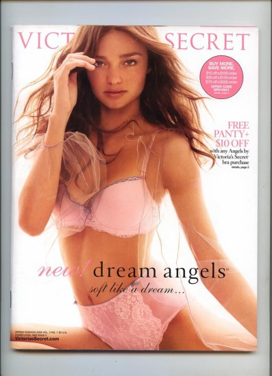 Victoria's Secret Lingerie Catalog Spring Fashion  2008  Vol 3