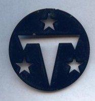 Go Team Go TN Titans heavy medal medallion type object Royal Blue