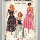 1989 Uncut Simplicity  9558 Dress Pattern Jessica McClintock Petite  Patterns