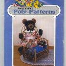 Poli Fil Poly Patterns Mama Bear and Baby Bert D-201 Fairfield Uncut Pattern