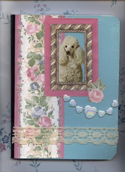 Altered Composition Journal OOAK Poodle Journals