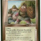 Middle Earth Blue Mountain Dwarves Uncommon Game Card