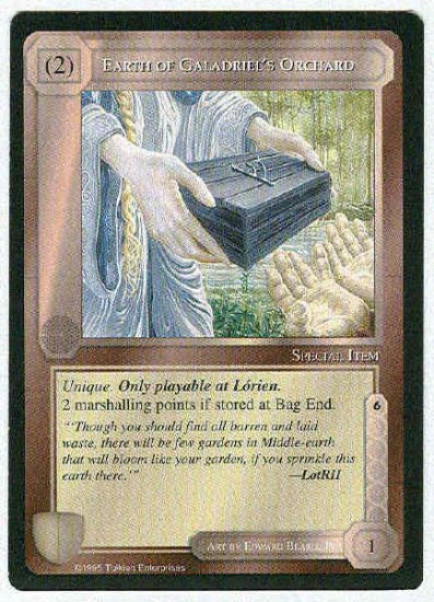 Middle Earth Earth Of Galadriel's Orchard Uncommon Card