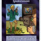 Illuminati Celebrity Spokesman New World Order Game Card