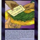 Illuminati Dollars For Decency New World Order Game Card
