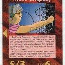 Illuminati Phone Company New World Order Game Card