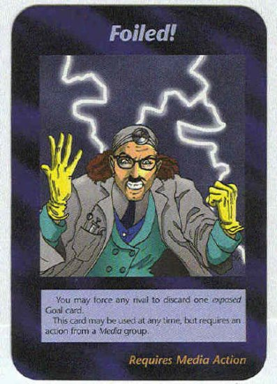 Illuminati Foiled New World Order Game Trading Card