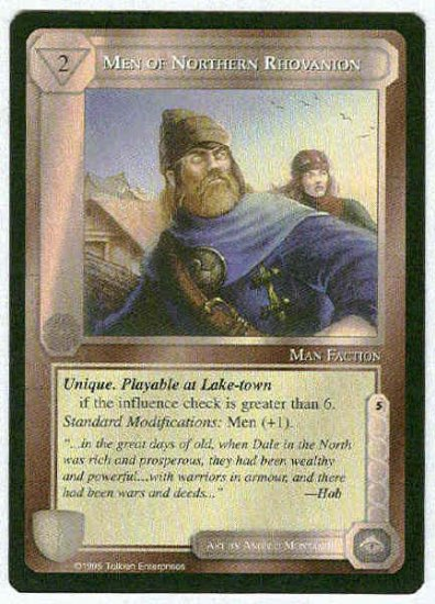 Middle Earth Men Of Northern Rhovanion Uncommon Card