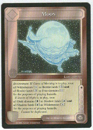 Middle Earth Moon Wizards Limited Uncommon Game Card