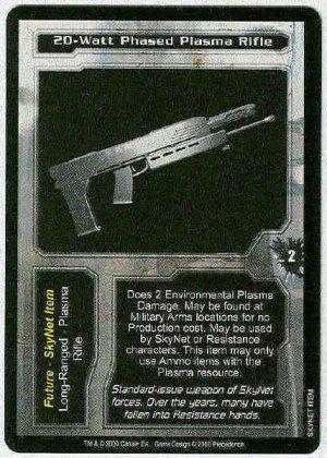 Terminator CCG 20-Watt Phased Plasma Rifle Uncommon Card