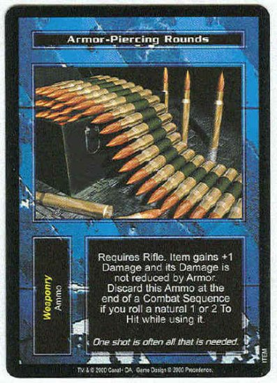 Terminator CCG Armor-Piercing Rounds Uncommon Card