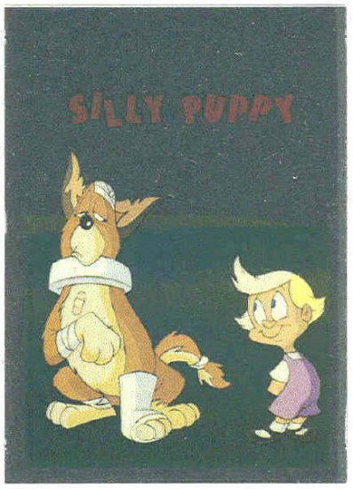 Animaniacs Foil Sticker #10 Mindy And Buttons Chase Card