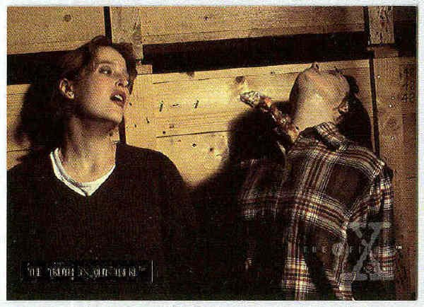 X-Files Season 2 #41 Parallel Card Silver Bar Xfiles