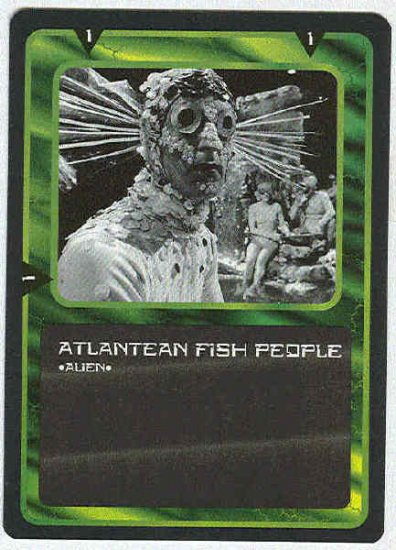 Doctor Who CCG Atlantean Fish People Uncommon Card