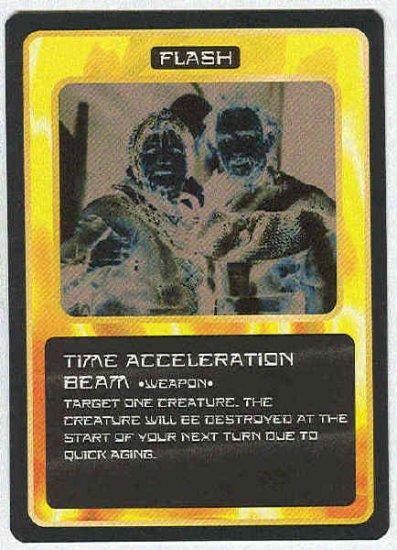 Doctor Who CCG Time Acceleration Beam Uncommon Card