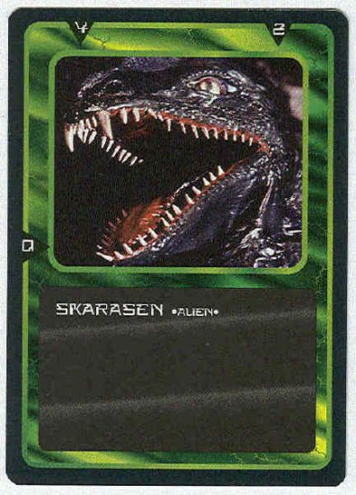 Doctor Who CCG Skarasen Uncommon Game Trading Card