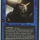 Doctor Who CCG Nimon Uncommon Black Border Game Card