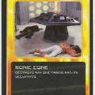 Doctor Who CCG Sonic Cone Uncommon Game Trading Card