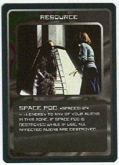 Doctor Who CCG Space Pod Uncommon Game Trading Card