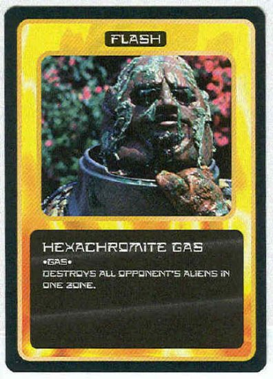 Doctor Who CCG Hexachromite Gas Uncommon Game Card