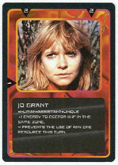 Doctor Who CCG Jo Grant Uncommon Card Katy Manning