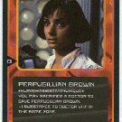 Doctor Who CCG Perpugillian Brown Uncommon Card Nicola Bryant
