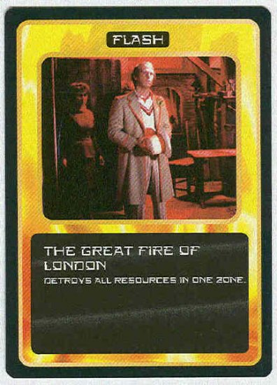 Doctor Who CCG The Great Fire Of London Uncommon Card