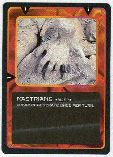 Doctor Who CCG Kastrians Uncommon Game Trading Card