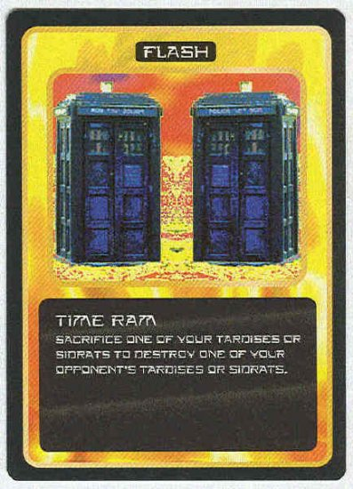 Doctor Who CCG Time Ram Uncommon Game Trading Card
