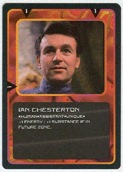 Doctor Who CCG Ian Chesterton Uncommon Card William Russell